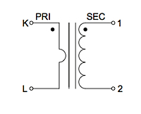 Schematic Diagram for P4019 400 Ampere (A) Split Core Current Transformers