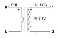Schematic Diagram for P4023 200 Ampere (A) Outdoor Split Core Current Transformers
