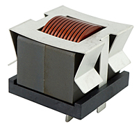 HWI4434V Series Helical Edge Wound (HEW) High Current Fixed Inductors