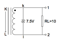 Test Circuit for P4018 200 Ampere (A) Split Core Current Transformers
